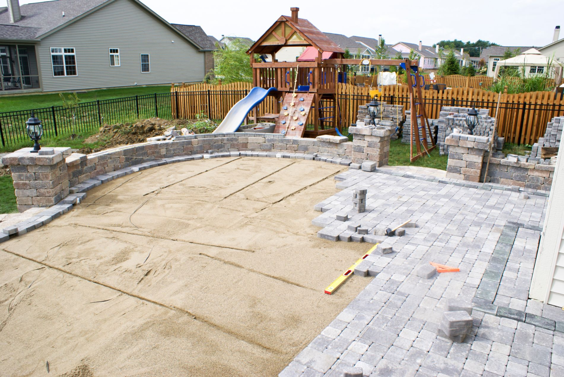 Indianapolis affordable paver contractor